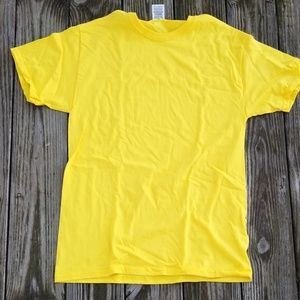 Fruit of the Loom yellow T shirt